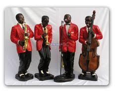 lot of 3 shearwater black americana jazz band musician dancer baby