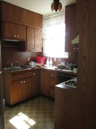 kitchen cabinet refinishing before and after small kitchen makeovers on a budget cabinet refacing before and