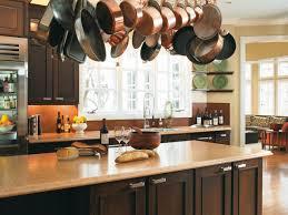 plywood prestige statesman door hazelnut kitchen island with pot