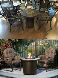 Tropitone Fire Pit by 10 Ways To Maximize Your Pint Sized Patio Entertaining Design