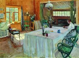Dining Room Paintings Artful Interiors Paintings Of Beautiful Rooms Sergei