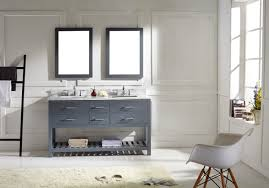 Bathroom Vanities Maryland Virtu Usa Caroline Estate 60 Bathroom Vanity Set In Grey