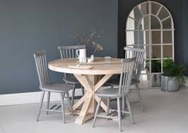 Reclaimed Round Dining Table by Click To Shop At Home Barn For The Circular Reclaimed Wood Round