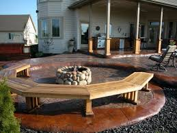 Backyard Flooring Options by Patio Stone Design Portable Outdoor Bars Outdoor Stone Bars