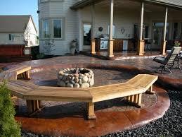Backyard Flooring Options - patio stone design outdoor patio flooring ideas deck concrete