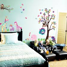 compare prices monkey wall decal online shopping buy low price new design owl tree wall stickers removable diy decal for kidsroom