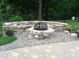 Firepit Stones Pit With Cover Pits