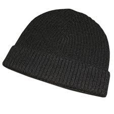 black co uk black beanie hat in black for lyst