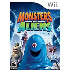 monsters aliens nintendo wii game