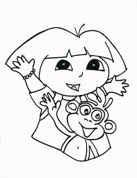 diego dora coloring pages kids coloring