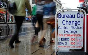 exchange bureau de change saving on foreign exchange the zero pc commission myth telegraph