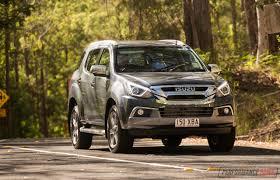 2017 isuzu mu x review u2013 australian launch performancedrive