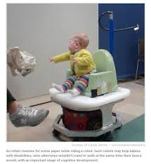 Chair For Baby To Sit Up How Baby Driven Robots Could Help Children With Disabilities