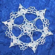557 best crochet snowflakes images on crochet