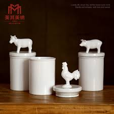 pig kitchen canisters pig kitchen canisters 28 images white pig cow and rooster
