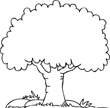 coloring pages of trees coloring pages for family reunion