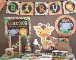 Safari baby shower