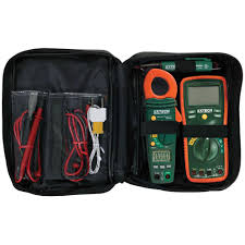 extech instruments manual clamp meter electrical test kit tk430