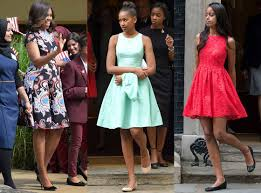 obama dresses day 2 malia obama wow with 4 ladylike dresses
