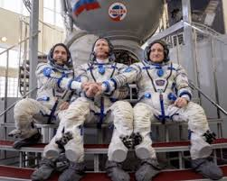 soyuz tma 16m docks and begins historic one year expedition
