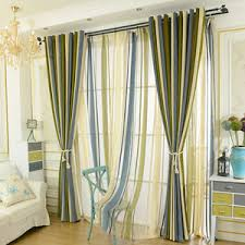Green Striped Curtains Horizontal Striped Curtains Black And White Striped Curtains