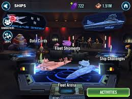 star wars galaxy of heroes guide to ships