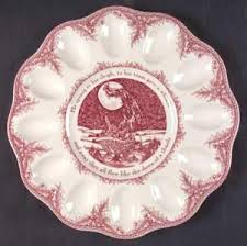 christmas deviled egg plate noble excellence twas the before christmas deviled egg plate