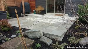 Concrete Patio With Pavers Project Spotlight Drainage Solutions More For Portland Homeowners