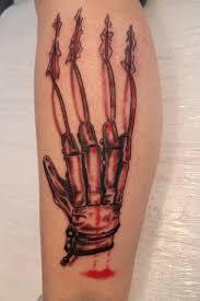 5 freddy krueger claw scratch tattoos