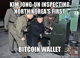 Korea Meme - meme north korea s first bitcoin wallet steemit