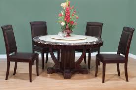 Espresso Pedestal Dining Table Modern Pedestal Dining Table