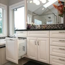 Bathroom Cabinet With Built In Laundry Hamper 108 Best Bathroom Ideas Images On Pinterest Bathroom Ideas