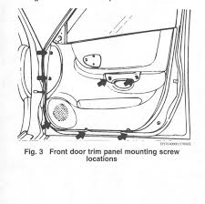 hyundai accent door panel i am trying to repair a window for my hyundai accent i cannot