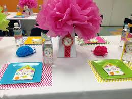 home design pretty homemade centerpieces for birthday parties