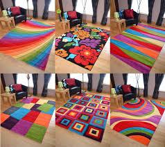 Multi Coloured Rug Uk Aamina Handloom