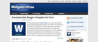 best blog widgets for free web design strategy and resources