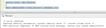 Delete From Table Sql Welcome To Techbrothersit How To Reset Identity Column Value In