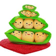 3 peas in a pod 2018 3 peas in a pod plush stuffed doll pillow birhtday