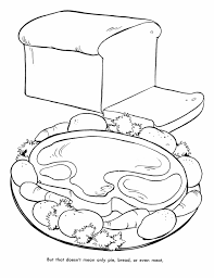 thanksgiving dinner coloring pages many interesting cliparts