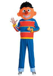 Halloween Costumes Sesame Street Ernie Costume Sesame Street Halloween Costumes