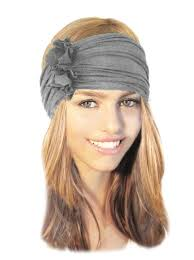 wide headband navy blue headband wide stretch chunky headbands hair bands