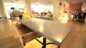 Habitat Dining Table Habitat Yeoman Industrial Style Zinc Top Console Table Dining
