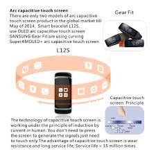 oled bracelet images L12s oled bluetooth bracelet watch gearbest led smart watch jpg
