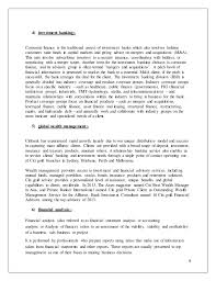 generic investment banking cover letter