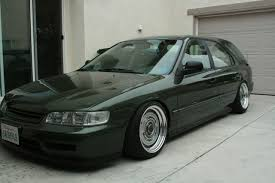 honda accord wagon 95 honda accord wagon green rides styling