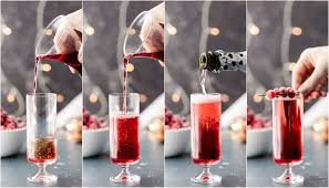 sugared cranberry mimosas the cookie rookie