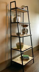 shelves shelf design oak shelf ladder rustic wood ladder style