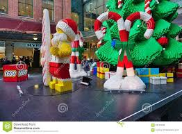 the christmas holiday celebrated down under in sydney with lego
