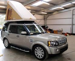 land rover lr4 interior sunroof prospeed rack with maggiolina roof tent camper pinterest