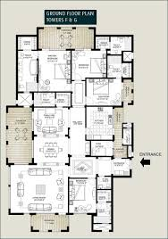 Cluster House Plans Floor Plans Of Emaar Mgf The Palm Springs Apartments U0026 Penthouses